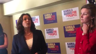 Kamala Harris pleads with whistleblower
