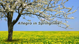 Allegro in Springtime - composed by Yohanan Cinnamon - from Alive Again album - Video