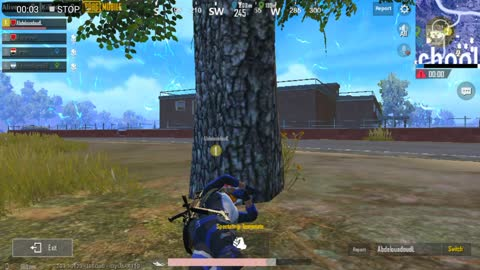 Pubg Mobile Game Surving Skills to Attack School 3 Players Left