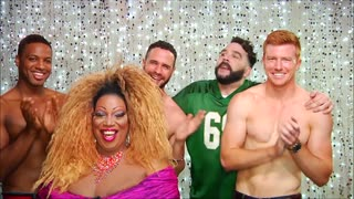 RuPaul's Drag Race Pit Crew on Hey Qween with Jonny McGovern! PROMO - Video