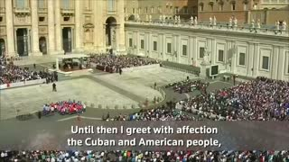 "Pope holds ""great hope"" for trip to Cuba and U.S. - Video"