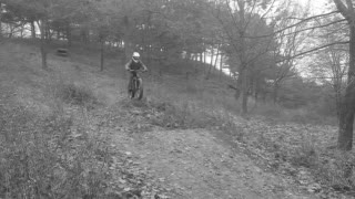 Bike from forest down hill faceplant - Video