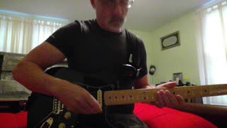 """Star Spangled Banner"" played on my Fender Stratocaster"