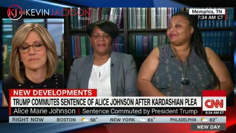 Alice Johnson thanks President Trump