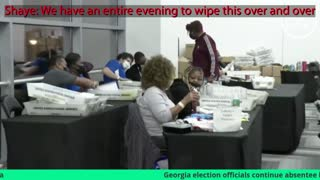 Fullton County Election Fraud Captured on Video