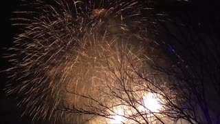 Finnish New Year 2017 Fireworks - Video
