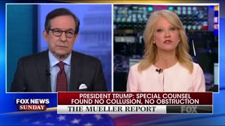 "Chris Wallace and Kellyanne Conway spar over ""total exoneration"""