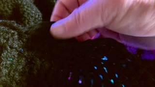How to crochet a shell stitch boarder