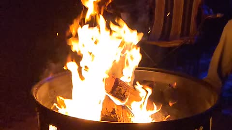 My slow motion fire