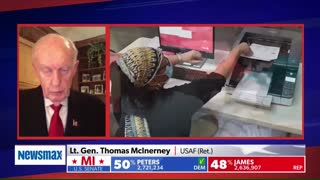 Cyber election fraud Lt General Thomas McInerney