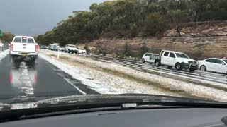 First Hailstorm of 2018 in Sydney - Video
