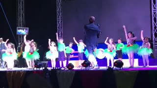 Little Angles Perform their Audition On Stage
