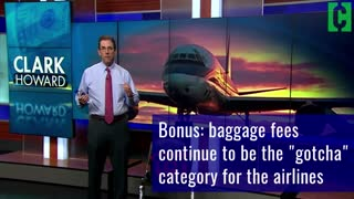 Airline Fees Can End up More Than Doubling the Cost of Your Ticket - Video