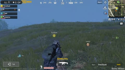 Gang Party Fighting Zombies In Pubg Mobile Game