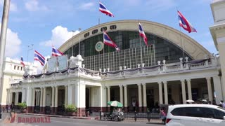 Train Journey From Bangkok To Surin