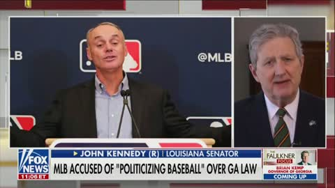 John Kennedy On MLB Commissioner