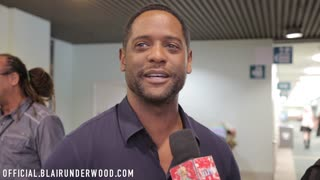 Blair Underwood interview at Comikaze Expo 2015 - Video
