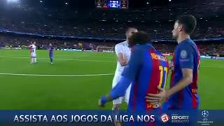 Dani alves and Neymar - Video