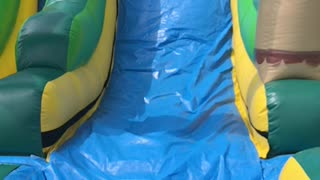 Slow Mo Water Slide Wipeout