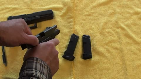 Basic Firearms Tutorial #18: Glock