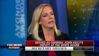 "DHS Sec. Kirstjen Nielsen can't recall whether Trump made ""shithole"" remark - Video"
