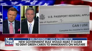 New green card rule for immigrants using welfare now in effect