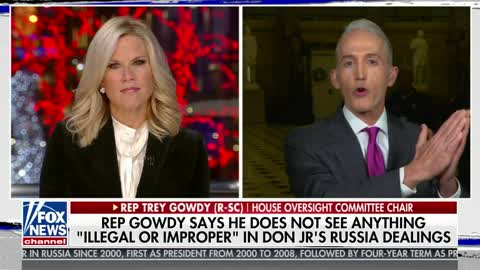 Gowdy Unveils How Congress Is Handling Anti-Trump Texts in Russia Probe