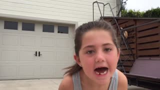 Volleyball Hit Tooth Removal - Video