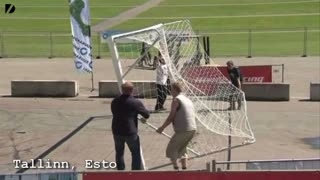 Crazy Estonian Car Ball - Video