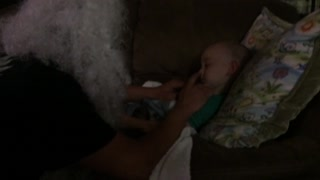 Parents' Prank Fails When Kid Refuses To Wake Up - Video