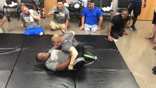 A Little Legless Wrestling