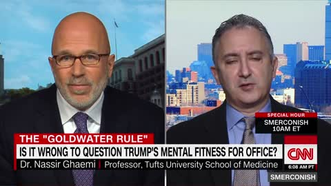 CNN's Smerconish: Unfair And Unseemly To Speculate Trump's Mentality Without Diagnosis