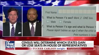 Tucker Carlson speaks about census citizenship question