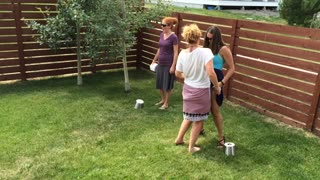 Toilet Plunger and TP Relay Race - Video