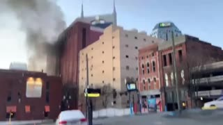 Nashville Explosion Moments after!