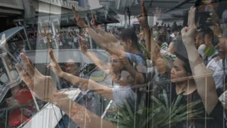 "Thai Citizens Protest Using Popular ""Hunger Games"" Salute - Video"