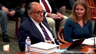 Rudy To legislators. How to deal with it!