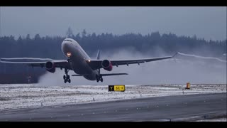 Planes in Slow Motion - Video