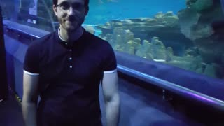 KLCC Aquaria Malaysia, with the cat daddy