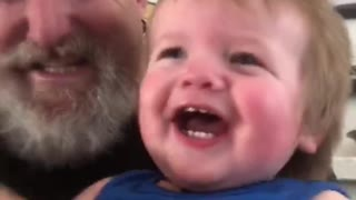 Who needs cat videos when babies laugh