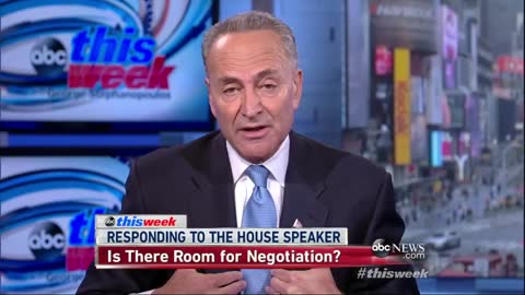 Sen. Schumer Threatens to Shut Down the Gov. Over Immigration — Look What He Said in 2013 2
