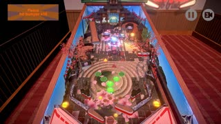 Retro Pinball - Game Play - First View