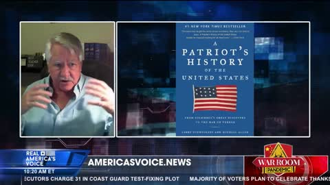 Larry Schweikart - True Story of The Pilgrims and Plymouth Rock