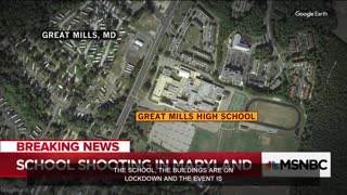 Police: Maryland High School On Lockdown, Shots Fired - Video
