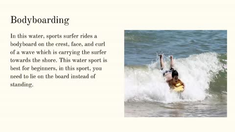 Frank Dilullo: 4 Water Sports To Experience This Summers