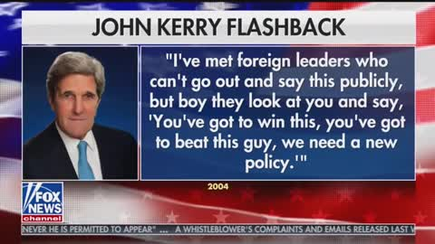 Tucker Carlson uncovers troubling John Kerry 2004 comments