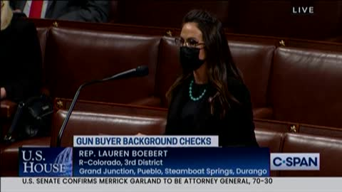 Boebert Delivers FIERY Defense of the Second Amendment on House Floor