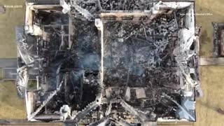 Mason County Courthouse in Texas was burned to the ground. Suspect caught.