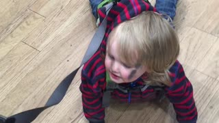 When your child has had enough of shopping! #tiredshopper - Video