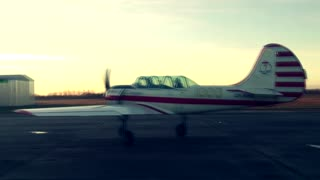 Acrobatic Flight with Yak-52  - Video